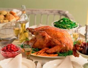 Turkey Dinner --- Image by  Royalty-Free/Corbis