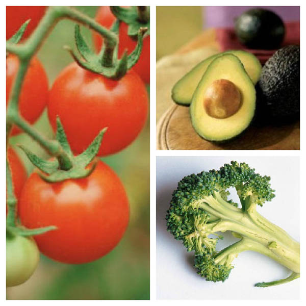 Prostate Healthy Foods Collage