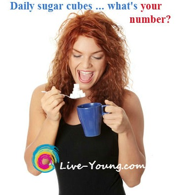 daily sugar cubes what's your number? live-young