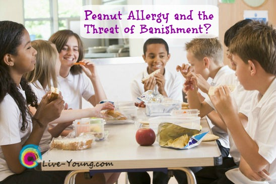 Peanut Allergy and the Threat of Banishment? | new post on Live-Young.com #nutallergy #allergies