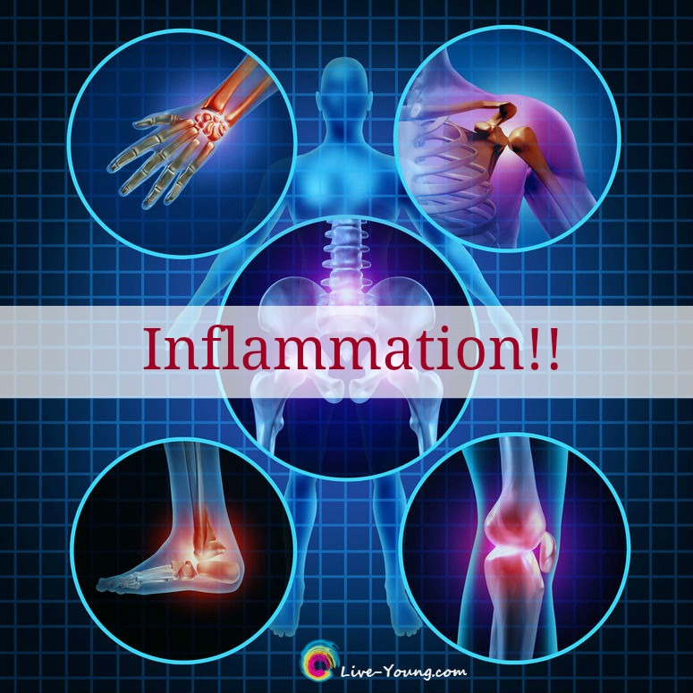 Douse the Inflamed Body with Whole Foods | new on live-Young.com #inflammation