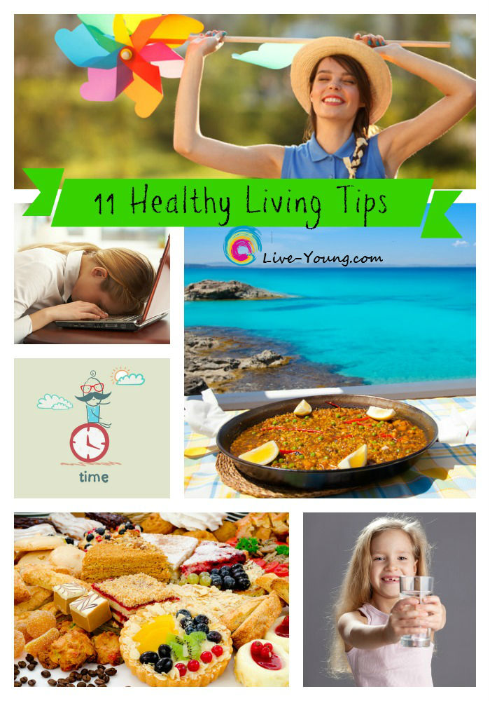 (New) The Best of Live-Young.com: 11 Healthy Living Tips