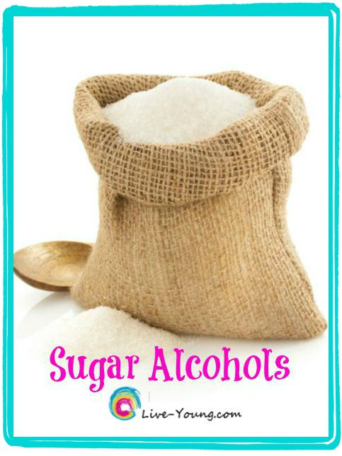 What's the Truth About Sugar Alcohols? |new on Live-Young.com #sweeteners