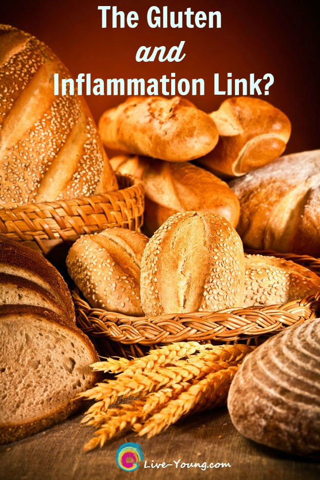 The Gluten and Inflammation Link? | New on Live-Young.com #inflammation