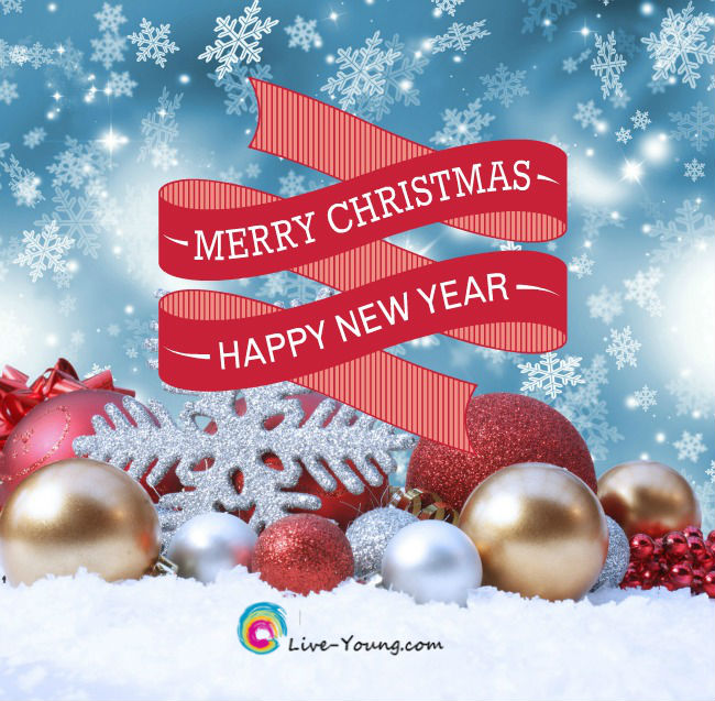 Merry Christmas and Happy New Year from Live Young! |new post on Live-Young.com
