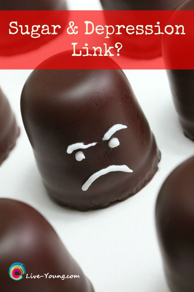 Link Between Sugar and Depression? | new on Live-Young.com #sugar #depression