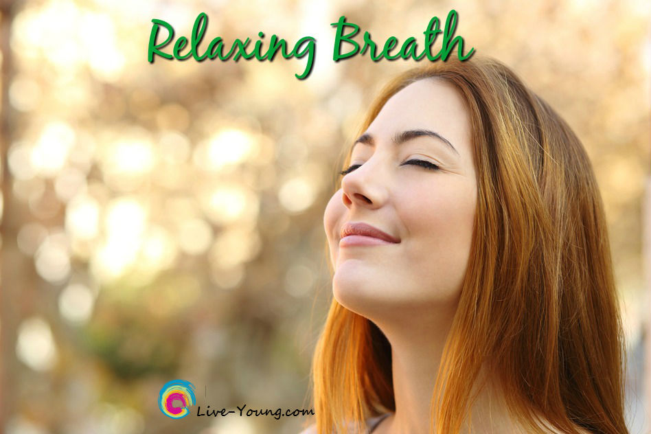 Simple Breathing Exercise for Immediate Stress Relief | new on Live-Young.com #relaxingbreath