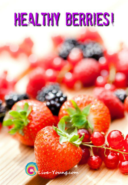 Eat These Antioxidant-Rich Berries Every Day | new on Live-Young.com #berries