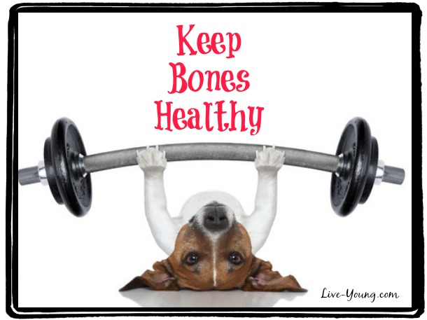 How to Keep Bones Healthy As You Age |new on Live-Young.com #bonehealth